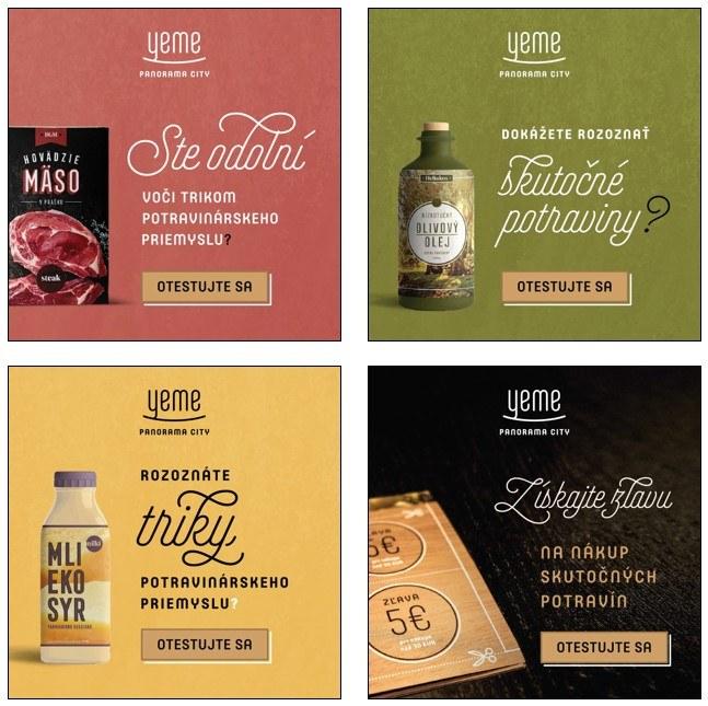 reklamne bannery yeme - skutocne potraviny